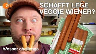 Wurst Wunder: Sebastian soll vegetarische Würstchen selber machen | b/esser challenge