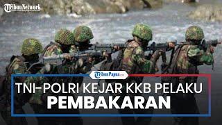 TNI-Polri Kejar KKB Pelaku Pembakaran SD Mayuberi, Perumahan Guru, dan Puskesmas di Distrik llaga