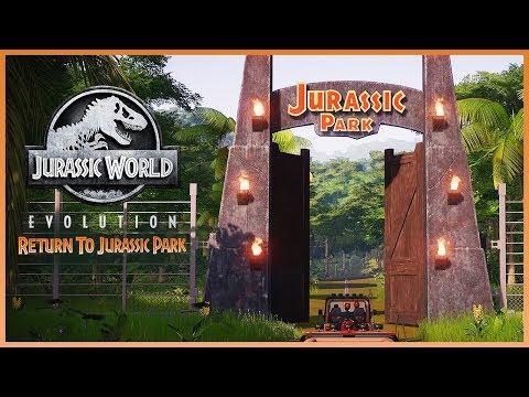RETURN TO JURASSIC PARK! New Jurassic World: Evolution DLC Announced! Trailer Breakdown