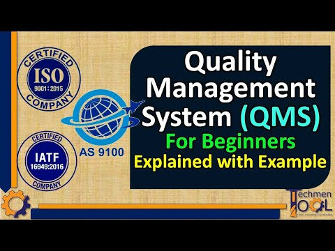 What is QMS? | Quality Management System | ISO 9001 | AS 9100 | IATF | Basics for Beginners