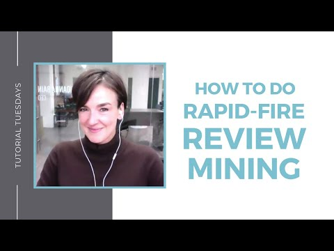 How To Do Rapid-Fire Review Mining