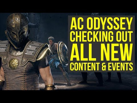 Assassin's Creed Odyssey DLC - Checking Out All The New Stuff (Weekly Reset April 2nd)