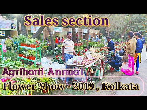 Sales Section , Annual Flower Show : You can buy Everything  related to Gardening.