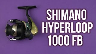 Катушка shimano hyperloop 1000 fb