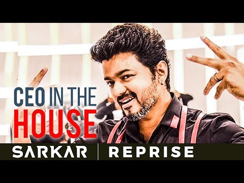 Download Sarkar - CEO In The House Reprise Version | Nakul | Vijay | AR Rahman | SS 30 HD Mp4 3GP Video and MP3