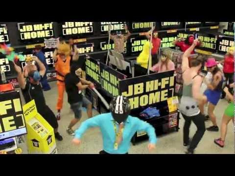 JB Hi-Fi Has Its Own Harlem Shake