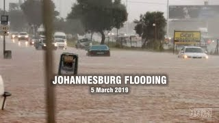 Johannesburg Flooding & Safety Tips On What To Do When Caught Up In Flash Floods