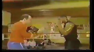Редкие кадры:тренировки и спаринги Майка Тайсона