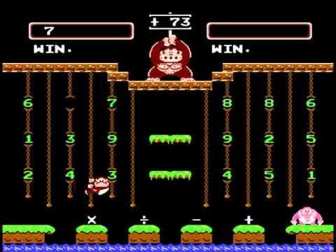Donkey Kong Jr. Math #Bienengräber
