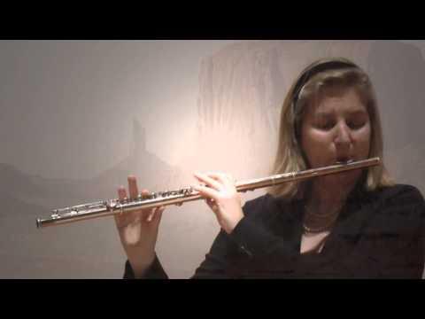 Katherine Hoover, Spirit Flight, Wendela van Swol, solo flute