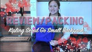 Review/Packing // Kipling Seoul Go