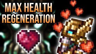 Health Regeneration is BROKEN in Terraria!
