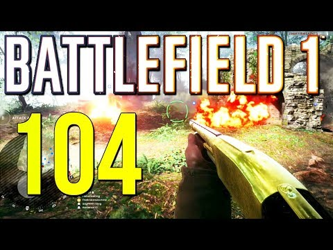 Battlefield 1: 104-12 Aggressive Shotgun Beasting