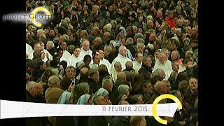 preview picture of video 'Reportage : Fête de Notre-Dame de Lourdes 2015 et Journée Mondiale du Malade, à Lourdes'