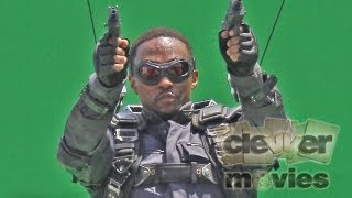 """Anthony Mackie As """"Falcon"""" First Look!"""