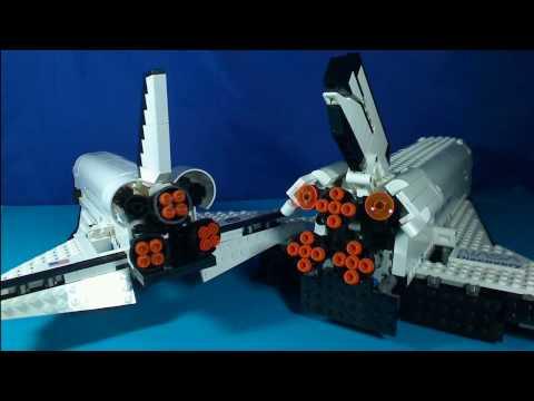 Vidéo LEGO Creator 10213 : Shuttle Adventure