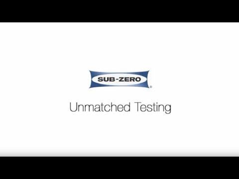 Sub-Zero - Unmatched Testing