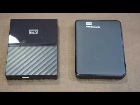 WD My Passport Disco Duro Externo 1T USB 3.0 - HDD 2.5