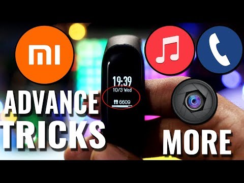 Mi Band 3 Hidden Features Play YouTube videos || Play Music ||Click