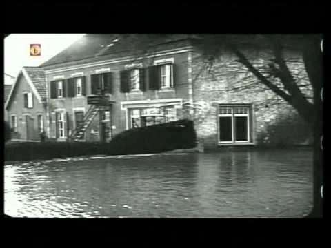 Uniek beeldmateriaal watersnood Katwijk 1926