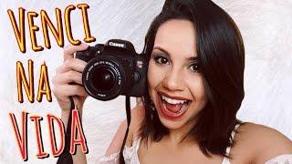 Minha Câmera Nova - Canon T6i