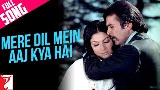 Mere Dil Mein Aaj Kya Hai  Full Song  Daag  Rajesh Khanna  Sharmila Tagore
