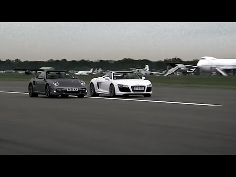 Audi R8 vs Porsche 997 – Top Gear – Series 15 – BBC