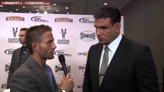 Interview with Frank Mir at the MMA AWARDS 2012