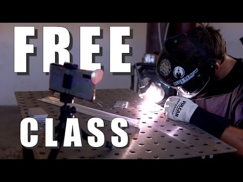 Weld With Me LIVE! - FREE TIG Welding Class - Sunday, June 13, 2021 12:00PM Pacific Time