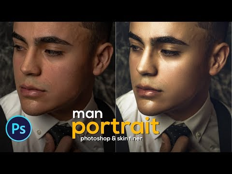 photo retouching tutorial for man portrait in three steps by asm arif
