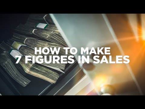 How To Make 7-Figures in Sales - Young Hustlers