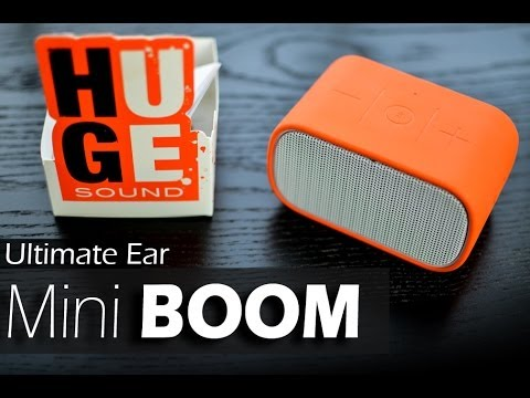Ultimate Ears UE Mini Boom - REVIEW