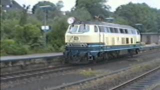preview picture of video 'DB/DSB Flensburg station 8-Aug-1990'