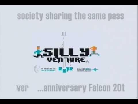 Sillyventure 2012 invite by Extream (Atari Falcon)