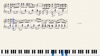 Scott Joplin, The Entertainer. [Piano Tutorial + Sheets]