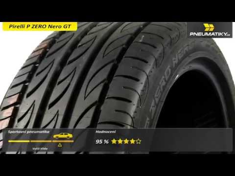 Youtube Pirelli P ZERO Nero GT 195/40 ZR17 81 W XL Letní