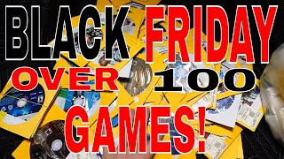 BLACK FRIDAY Dumpster Diving: OVER 100 GAMES!! Gamestop Night #607