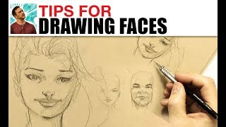 Tips For Drawing Faces