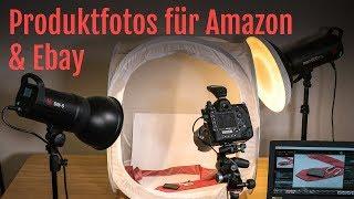 Schnell und einfach mit Lichtzelt Produktfotos für Amazon und Ebay erstellen