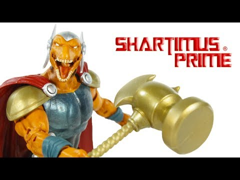 Marvel Legends Beta Ray Bill Avengers Engame Hulk BAF Wave Hasbro Comic Action Figure Review