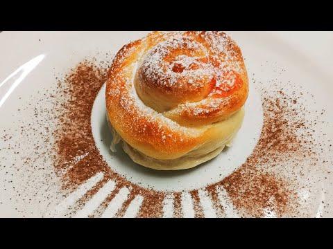 Как я готовлю сладкие булочки)))