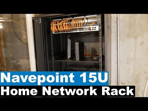 Home Network Setup and Rack Installation | NavePoint 15U Rack