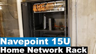Home Network Setup and Rack Installation | NavePoint 15U Rack