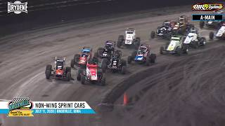 Knoxville Raceway BRANDT Corn Belt Nationals Highlights - July 11, 2020