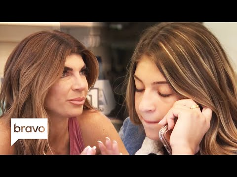 Joe Giudice and His Daughters Have An Emotional Phone Call | RHONJ Highlights (S10 Ep2)