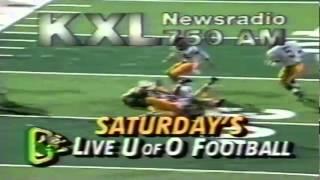 University of Oregon Ducks KXL Radio 750am TV commercial from 1991