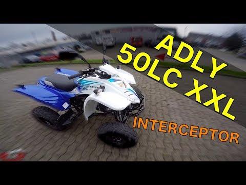 Adly 50 LC XXL INTERCEPTOR Test / Ab 16 Jahre / ToxiQtime