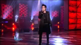 "The Ellen DeGeneres Show: Adam Lambert - ""Strut"" (January 26th, 2010)"