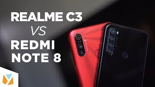 Realme C3 vs Xiaomi Redmi Note 8 Comparison Review