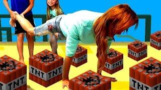Маму уронили? 😱 Что-то пошло не так Челлендж игра для детей ПАПА против МАМЫ Мы играем Steppy Pants